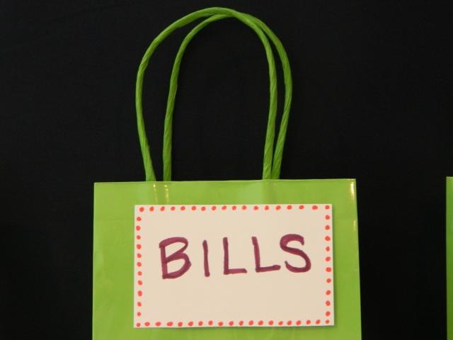 Close up - DIY Bulletin Board Inbox