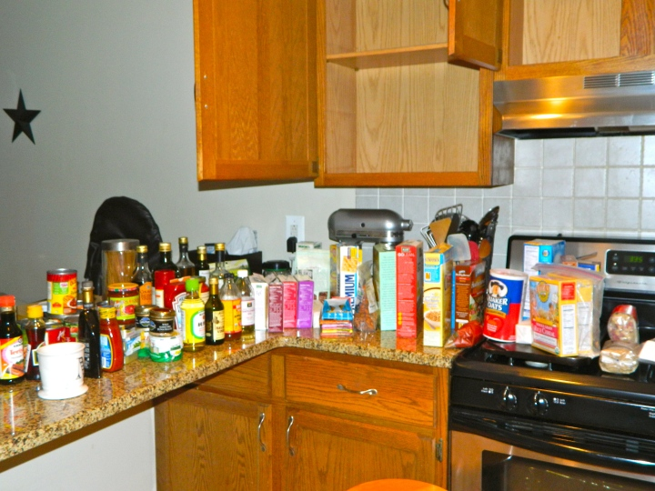 Pantry Items - During