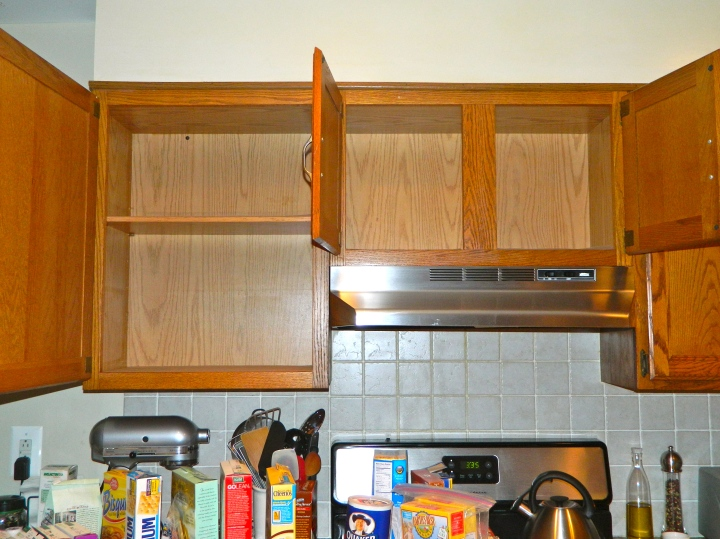 Empty Cabinets