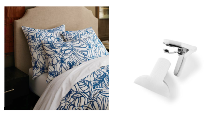 Duvet Cover Clips Collage