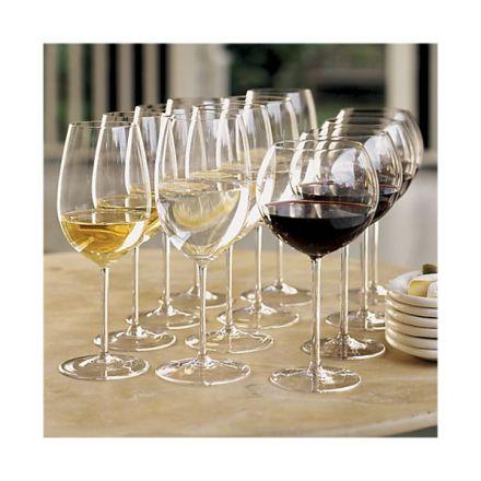 Crate & Barrel Vineyard Wine Glasses