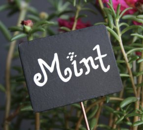 Mint Chalkboard Sign - Sierra Metal Design via Etsy