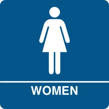 Womens Room Sign 1