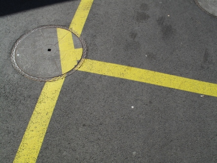 Manhole Off Center