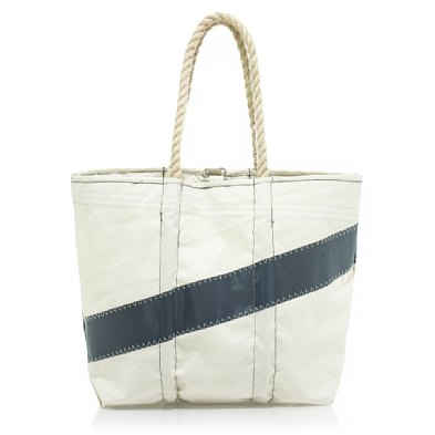 Sea Bags for J.Crew - Navy - White